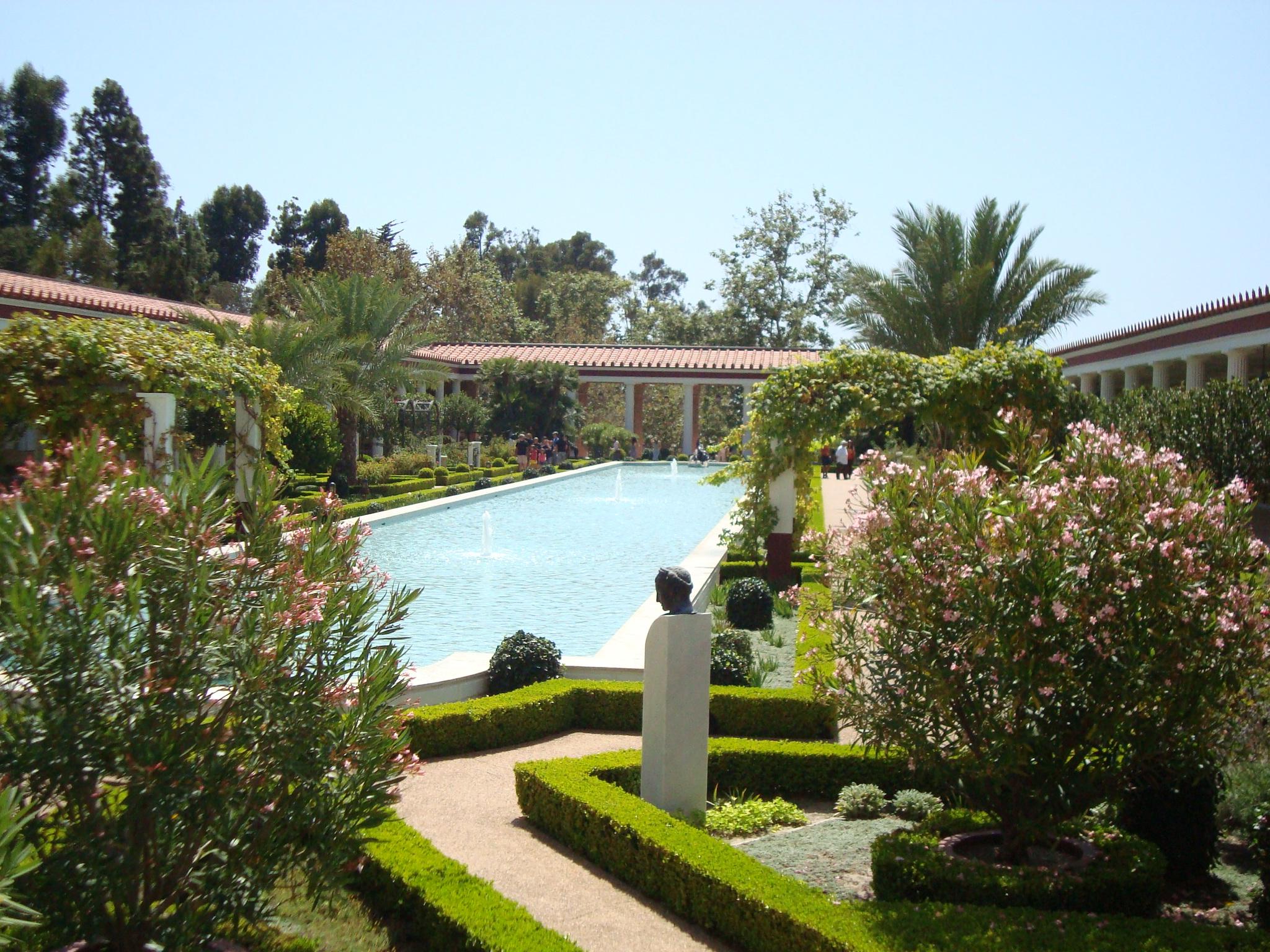 A Perfect Day At Getty Villa Malibu Marina Chetner