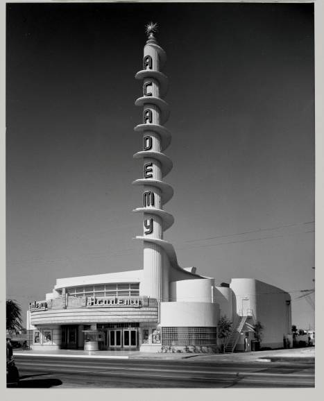Academy Theatre, Inglewood, 1940 ~ Lee, S. Charles, Architect