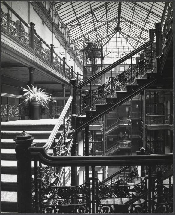Bradbury Building, Los Angeles, 1970 ~ Wyman, George, Architect