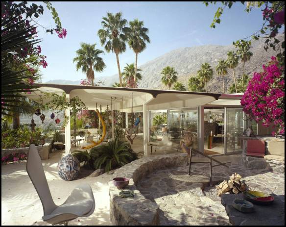 Burgess House, PalmSprings, 1984 ~ Frey, Albert , Architect
