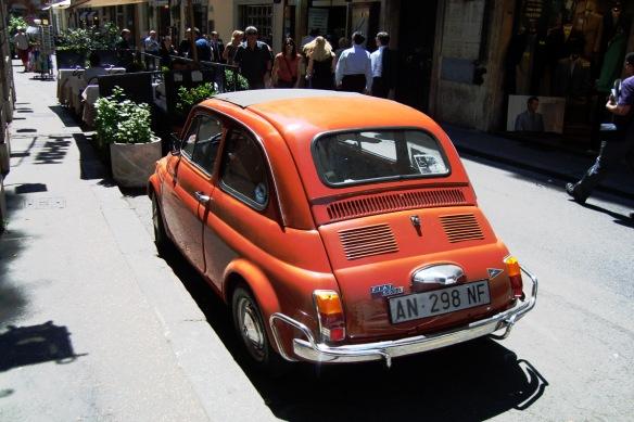 A Fiat in Roma