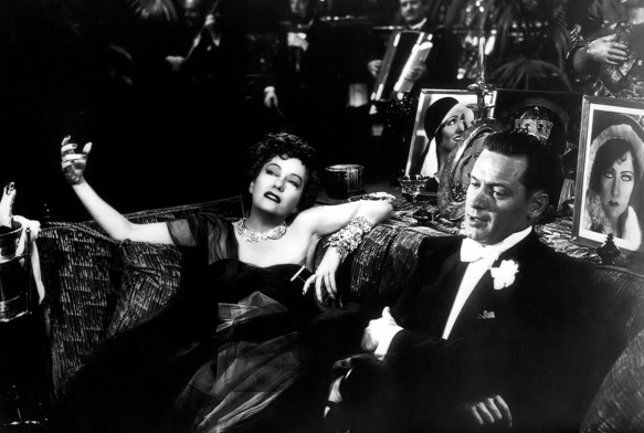 Sunset Boulevard Stars: Norma Desmond (Gloria Swanson) and Joe Gillis (William Holden)