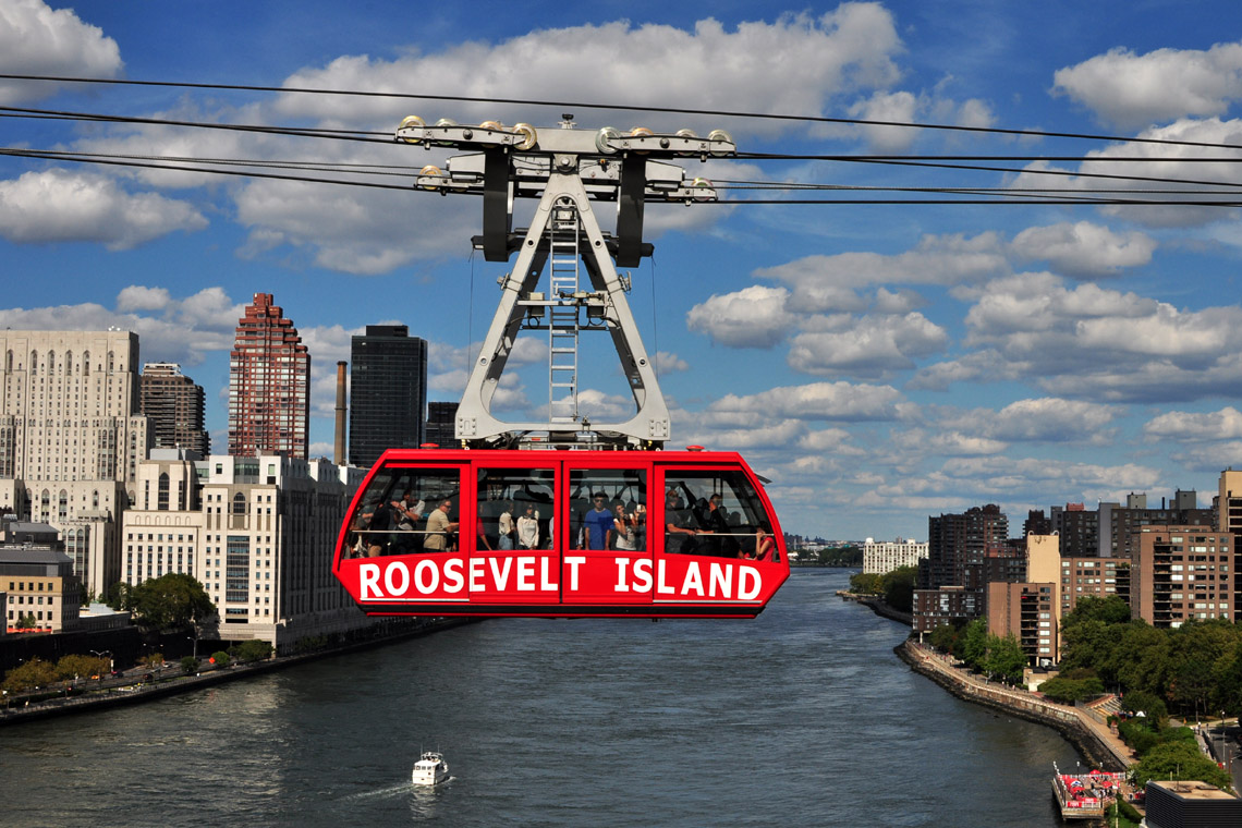 Billedresultat for roosevelt tram new york