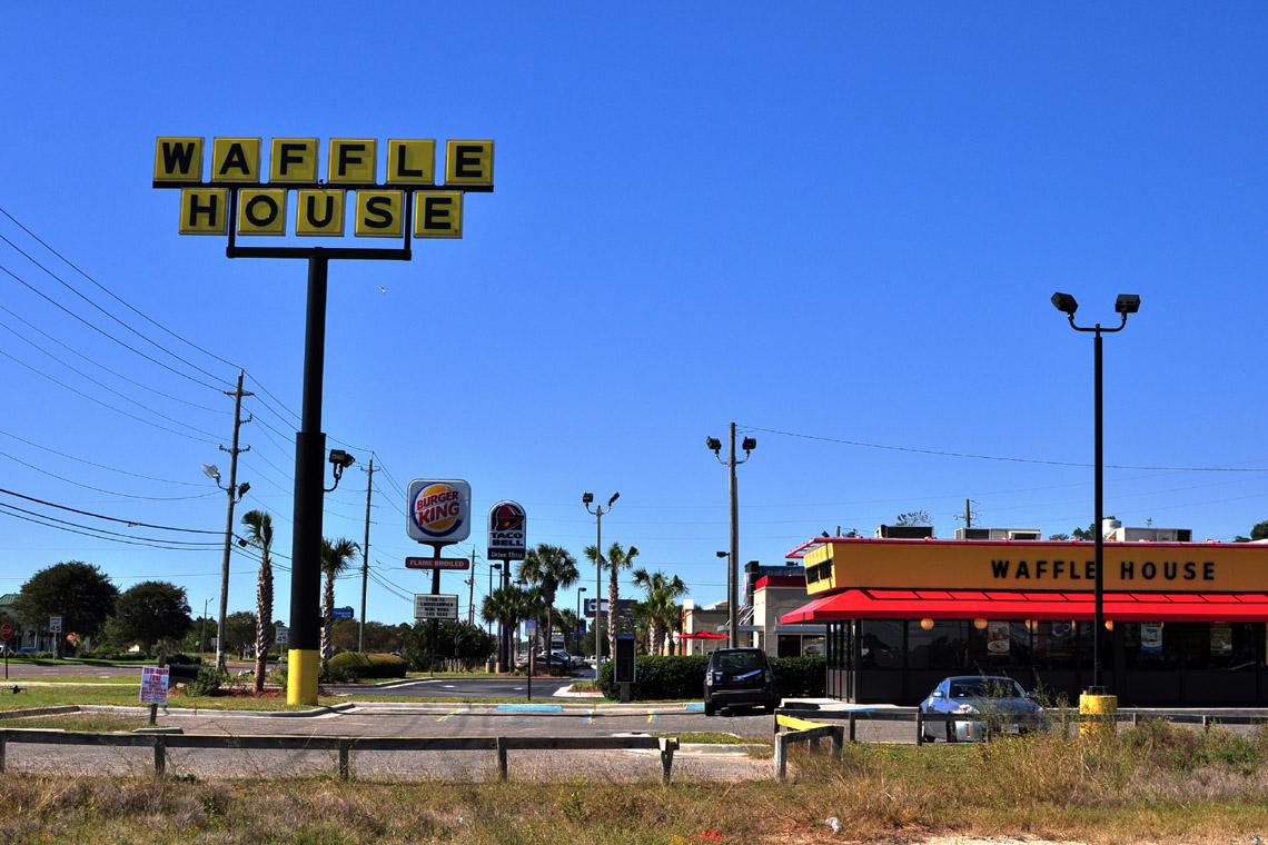 Waffle House In Panama City Beach