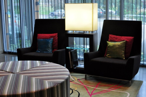 Aloft Raleigh Lobby