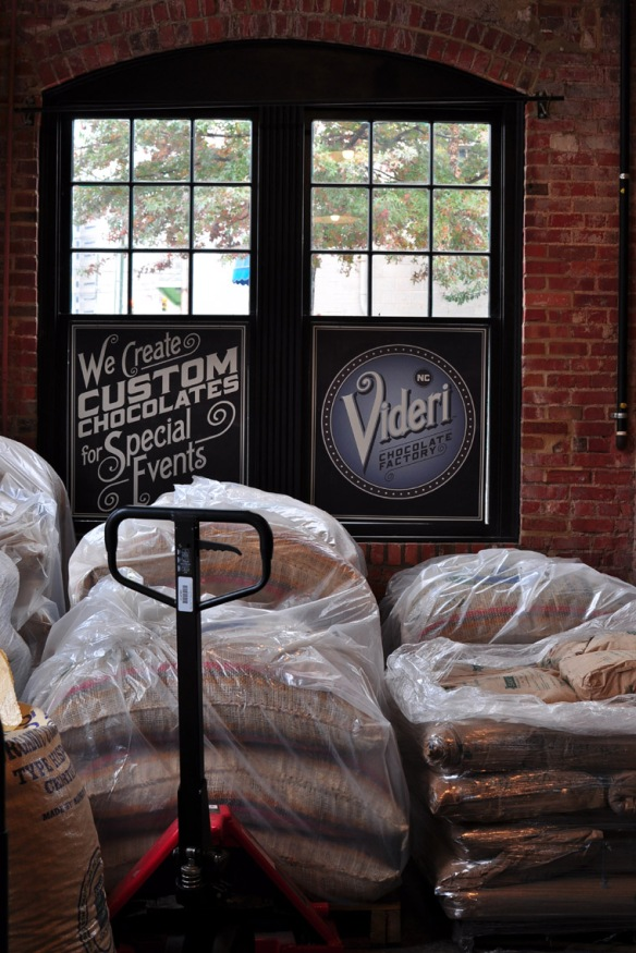 Warehouse District - artisan chocolate is made in the former Raleigh Train Depot