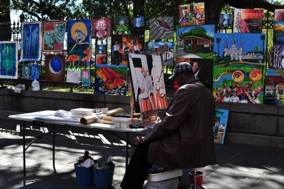 Artists near Jackson Square