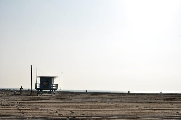 Cloudy Venice Beach