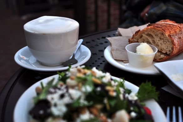 At Urth Caffe in LA's downtown