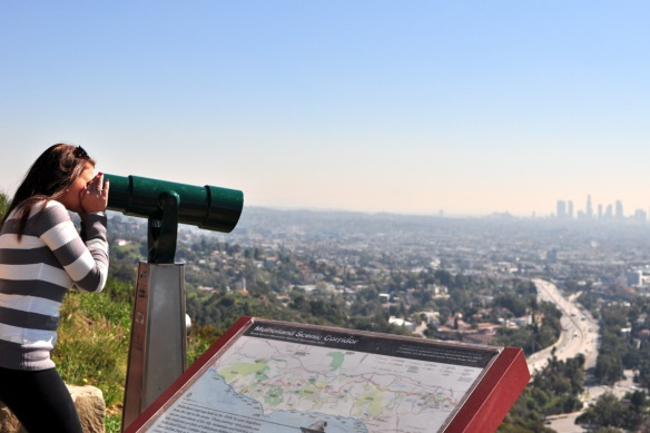 Looking over LA