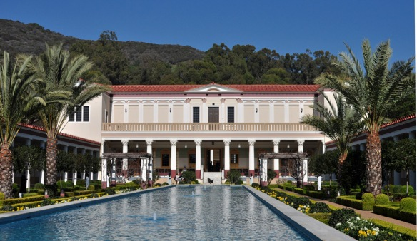 At The Getty Villa, Malibu