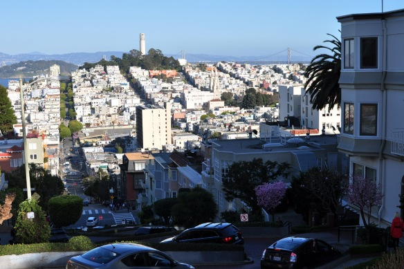 Lombard St, San Francisco - the world's windiest street