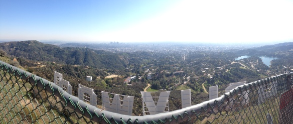 Hollywood Sign c/o the iphone