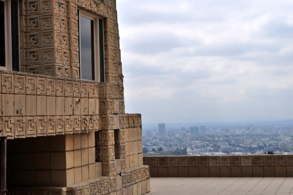 Part of the Ennis House