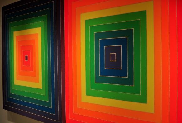 """Double Scramble"" (1968 by American, Frank Stella"