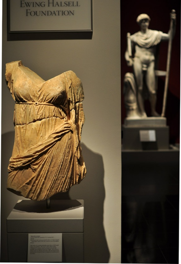 Torso of a Woman, and Marcus Aurelius - Roman AD 140-150
