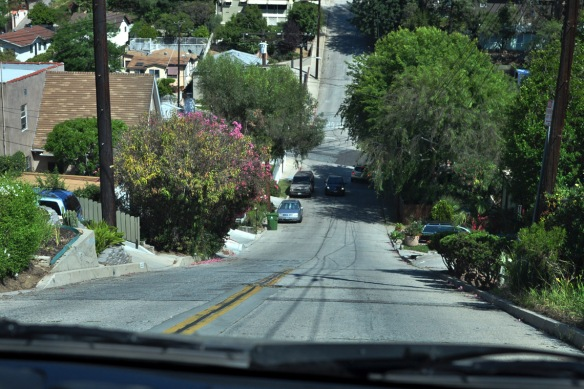 If you like rollercoasters, you'll like driving in Echo Park