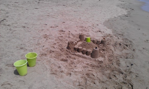 I cannot remember the last time I built a sandcastle... Can you?