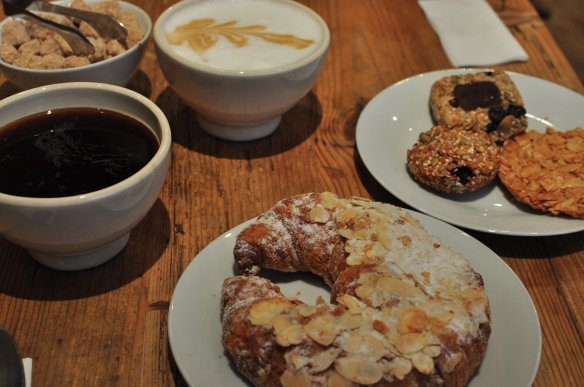 yes, we succumbed to the treats at Le Pain Quotidien