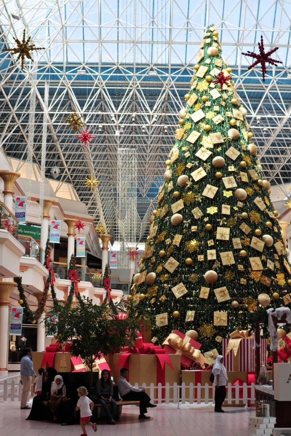 At Wafi Mall.