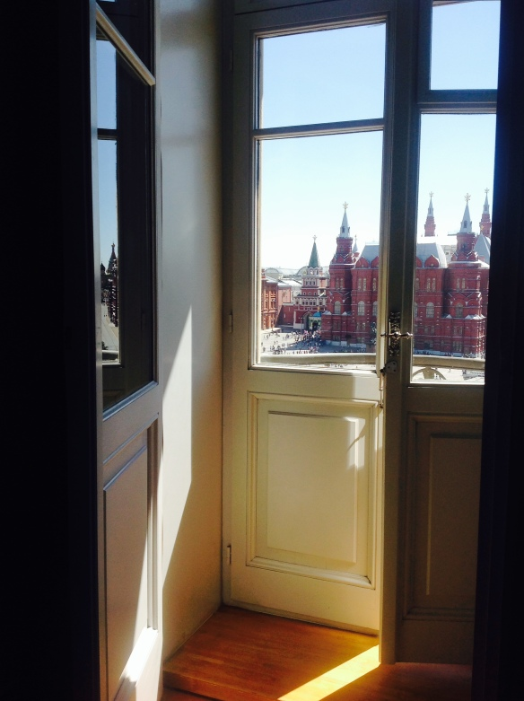 View of Red Square from Hotel National
