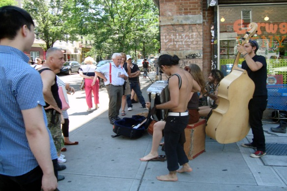 Music on Bedford Ave, May 2012