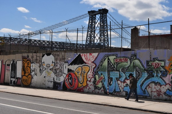 Williamsburg Bridge, April 2012
