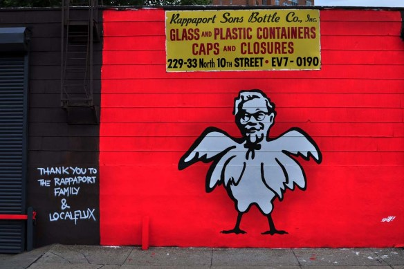 10th Street street art #2, August 2012