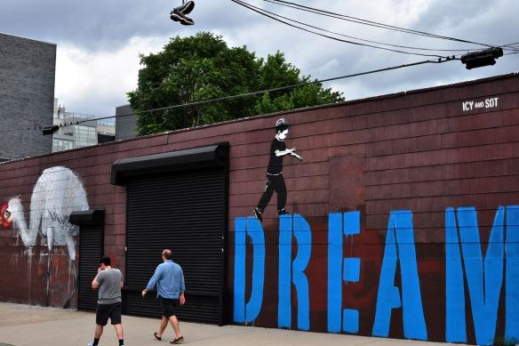 10th Street street art, August 2012