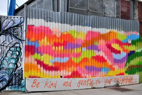 Street art, Bushwick, Brooklyn, July 2012