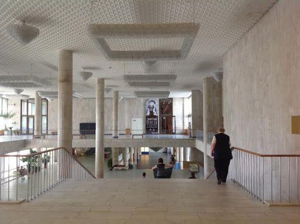 Interior of the New Tretyakov Gallery
