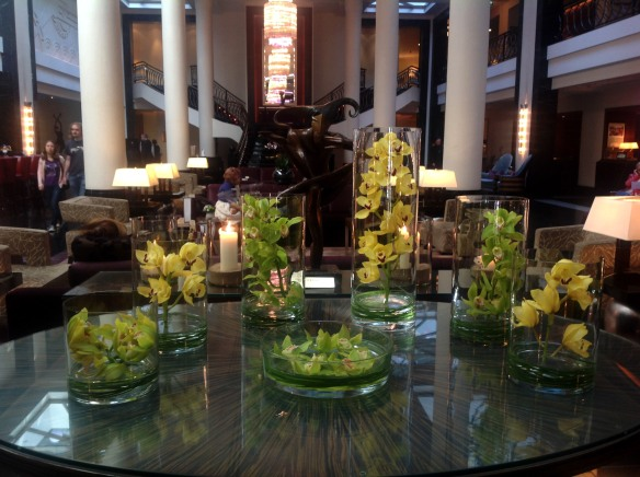 Corinthia's magnificent lobby