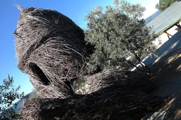 Patrick Doherty's art installation at HALL Wines