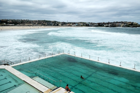 Start the walk with a swim and a beverage (champagne?) at Bondi Icebergs Club