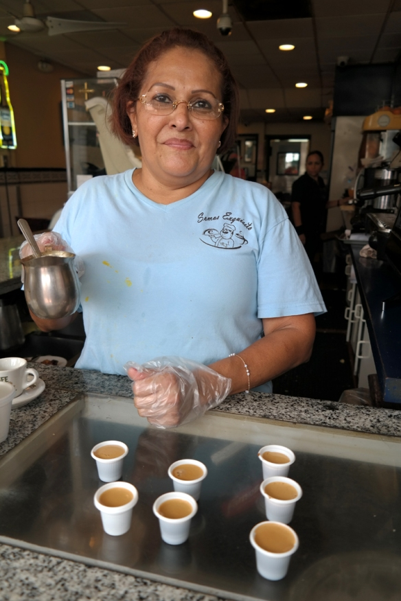 Cafe Cubano for 75 cents